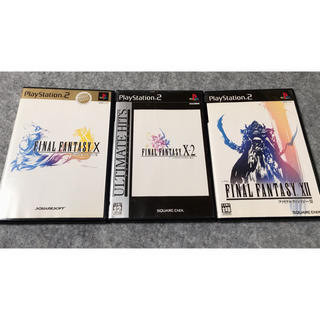 PlayStation2 - PS2 ファイナルファンタジー10,10-2,12の3点セット