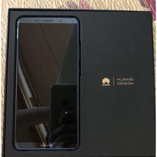アンドロイド(ANDROID)のHUAWEI mate10pro スマホ本体 美品 SIMフリー(スマートフォン本体)