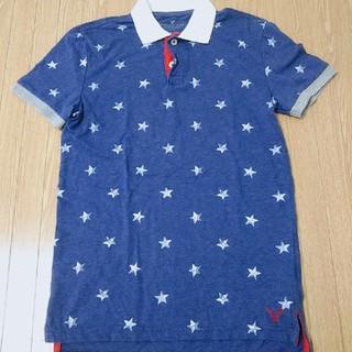 アメリカンイーグル(American Eagle)のアメリカンイーグル 星柄ポロシャツ(ポロシャツ)