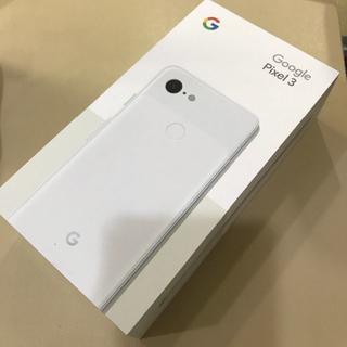 アンドロイド(ANDROID)の【SIMフリー/未使用】Pixel3 64GB★一括購入(スマートフォン本体)