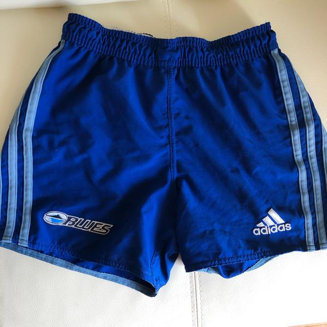 adidas(アディダス)のスーパーラグビーBLUES短パン スポーツ/アウトドアのスポーツ/アウトドア その他(ラグビー)の商品写真