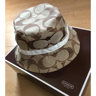 コーチ(COACH)の〈美品〉COACH  ハット  帽子(ハット)