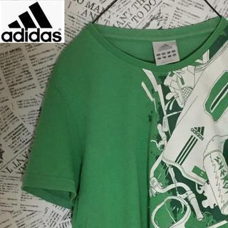 アディダス(adidas)の【超激レア】ライトグリーンカラーadidas Tシャツ アディダス ヴィンテージ(Tシャツ/カットソー(半袖/袖なし))