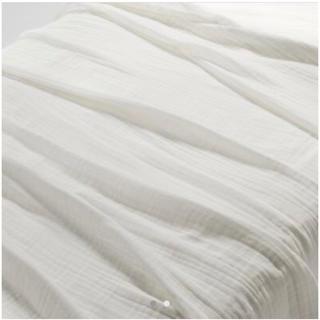 ムジルシリョウヒン(MUJI (無印良品))の【新品】無印良品 綿三重ガーゼケット ダブルサイズ(毛布)