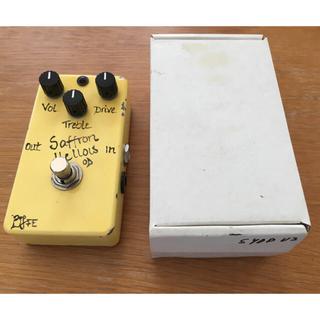 超激レア bjfe saffran yellow OD V2(エフェクター)