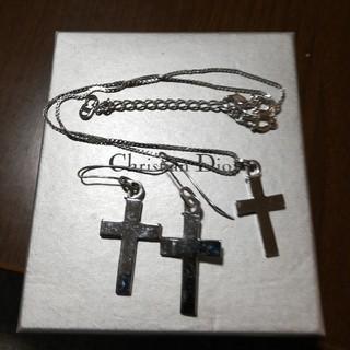 クリスチャンディオール(Christian Dior)のディオール ピアス&ネックレス(ネックレス)