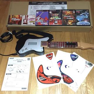 PlayStation2 - ギターフリークス アーケードスタイルコントローラ【ソフト6本セット】