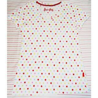 ユニクロ(UNIQLO)のユニクロ グリーンゲート 半袖Tシャツ レディース L  greengate(Tシャツ(半袖/袖なし))