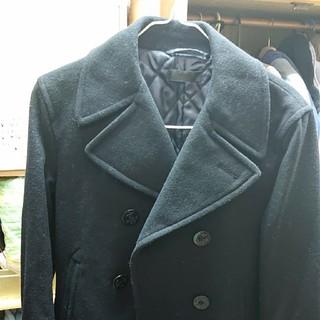 ユニクロ(UNIQLO)のPコート 黒 ユニクロ(ピーコート)