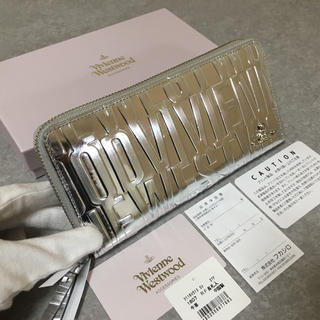 ヴィヴィアンウエストウッド(Vivienne Westwood)の★新品★ヴィヴィアンウエストウッド  長財布  シルバー  ラウンド(財布)