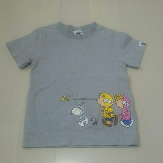 Tシャツ(A BATHING APE × PEANUTS)