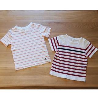 ムジルシリョウヒン(MUJI (無印良品))の無印良品 ベビーGAP Tシャツ 80(Tシャツ)