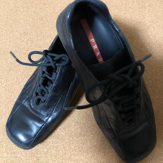 プラダ(PRADA)のプラダ  マニッシュシューズ(ローファー/革靴)
