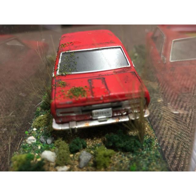 日産(ニッサン)の1/43 ブルーバード1600SS  レトロ ダイキャスト エンタメ/ホビーのおもちゃ/ぬいぐるみ(ミニカー)の商品写真