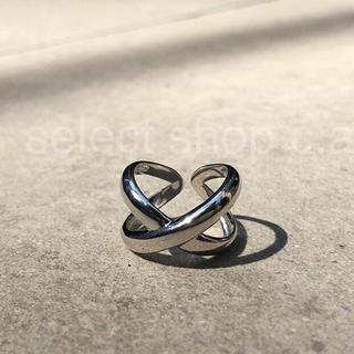 トゥデイフル(TODAYFUL)のシルバー925 クロリング silver925 リング(リング(指輪))