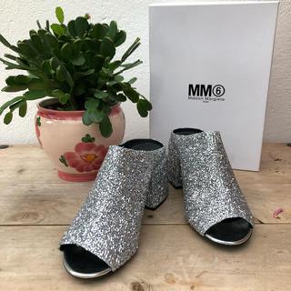 マルタンマルジェラ(Maison Martin Margiela)のマルタンマルジェラ MM6 グリッターサンダル(サンダル)