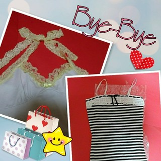 ByeBye - bye-bye キャミソール 2枚セット