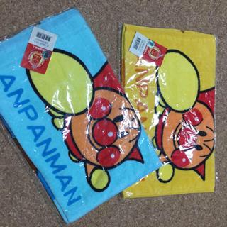 アンパンマン(アンパンマン)の3枚組 アンパンマン フェイスタオル(タオル/バス用品)