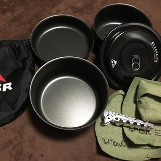 エムエスアール(MSR)の【週末値下げ】MSR BLACK LITE グルメクックセット(調理器具)
