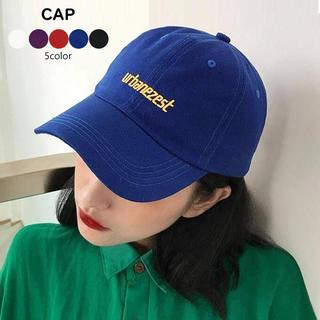 d3309781b0aca 帽子 キャップ 刺繍 ぼうし ベーシック おしゃれ 男女兼用 お揃いでも♡(キャップ)