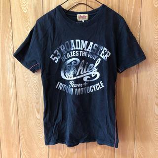インディアン(Indian)のインディアンモトサイクル Tシャツ ブラック(Tシャツ/カットソー(半袖/袖なし))