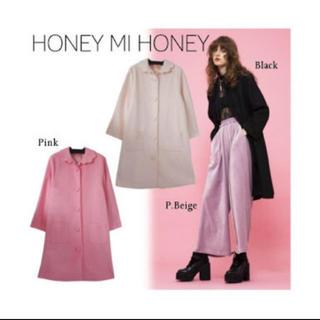 ハニーミーハニー(Honey mi Honey)のHONEY MI HONEY スカラップコート(ロングコート)