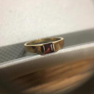 K18 ガーネット リング(リング(指輪))