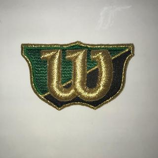 ウィルソン(wilson)のウィルソン グラブラベル [WS-6] グリーン×ブラック(その他)