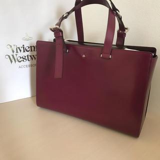 ヴィヴィアンウエストウッド(Vivienne Westwood)の新品 ヴィヴィアン トートバッグ simple パープル(トートバッグ)