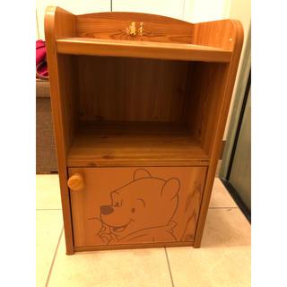 ディズニー(Disney)のくまのプーさん 木製 ラック(棚/ラック/タンス)