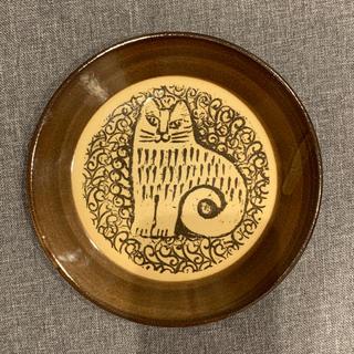 リサラーソン(Lisa Larson)のリサラーソン  益子焼 プレート 猫(食器)
