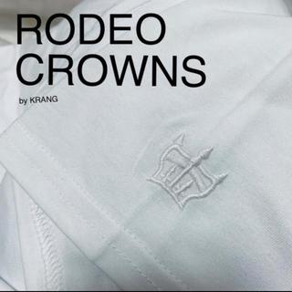 ロデオクラウンズワイドボウル(RODEO CROWNS WIDE BOWL)のrodeo crowns wide bowl Tシャツ 無地 ホワイト 白(Tシャツ/カットソー(半袖/袖なし))