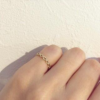 ジュピターゴールドレーベル(jupiter GOLD LABEL)のJUPITER ダイヤピンキーリング(リング(指輪))