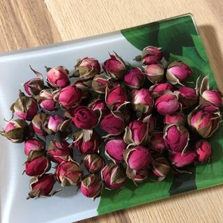 薔薇ミニミニ  ローズバッド50個  ドライフラワー(ドライフラワー)