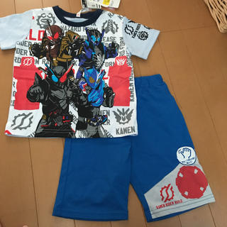 バンダイ(BANDAI)の新品 仮面ライダービルドパジャマ 100サイズ(パジャマ)