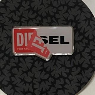 ディーゼル(DIESEL)のDIESELバッチ+ニット帽 未使用品(ニット帽/ビーニー)