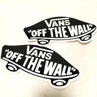 VANS - VANS off the wallステッカー2枚セット 黒
