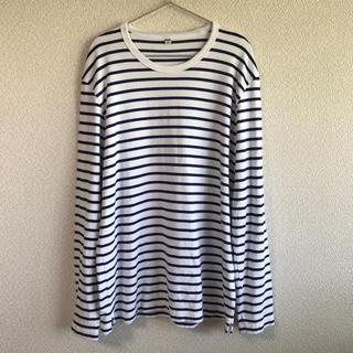 ユニクロ(UNIQLO)のUNIQLO ボーダー ロンT カットソー(Tシャツ/カットソー(七分/長袖))