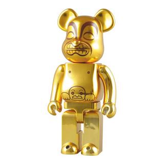メディコムトイ(MEDICOM TOY)のインディジョーンズベアブリック GOLDEN IDOL 黄金像400%(その他)
