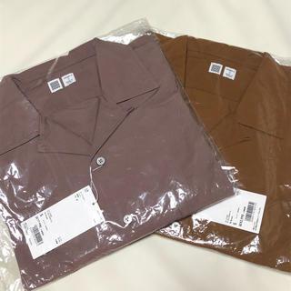 ユニクロ オープンカラーシャツ 長袖 2枚セット 新品 S