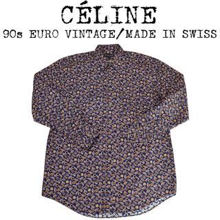 セリーヌ(celine)の★美品★定価約¥12万★CELINE★セリーヌ★スカーフ柄シャツ★ビッグシャツ★(シャツ)