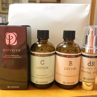 エトヴォス(ETVOS)の新品 DUVOTA 4点セット(化粧水/ローション)