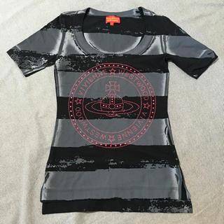 ヴィヴィアンウエストウッド(Vivienne Westwood)の中古 美品 VivienneWestwood ビッグオーブTシャツ(Tシャツ(半袖/袖なし))