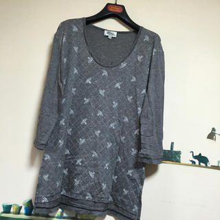 ヴィヴィアンウエストウッド(Vivienne Westwood)の中古 美品 MAN VivienneWestwood オーブTシャツ(Tシャツ/カットソー(七分/長袖))