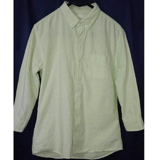 ジーユー(GU)のメンズシャツ 七分丈(Tシャツ(長袖/七分))