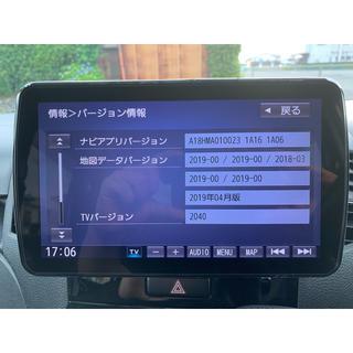 パナソニック(Panasonic)のパナソニック ストラーダ CN-F1XVD 中古美品(カーナビ/カーテレビ)