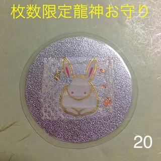 祝令和 枚数限定龍神お守り☆貴重な全身虹色と金色に輝く白蛇の抜け殻を使用(その他)