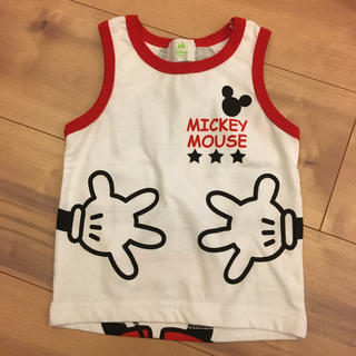 ディズニー(Disney)のミッキータンクトップ(タンクトップ/キャミソール)