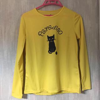 パラディーゾ(Paradiso)のパラディーゾ長袖シャツ黄色M(ウェア)
