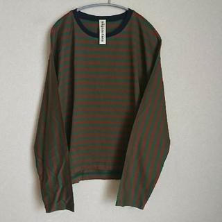 エンフォルド(ENFOLD)のnagonstans ナゴンスタンス ボーダー ロンT 長袖Tシャツ(Tシャツ(長袖/七分))